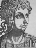 Tiberius Caesar III, Emperor of Rome Photographic Print by  Antonius