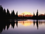 Mount Rainier from Tipsoo Lake Photographic Print by Paul Edmondson