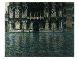 Contarini Palace, Venice Giclee Print by Claude Monet
