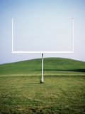Goal Post in Field Photographic Print by Michael Prince