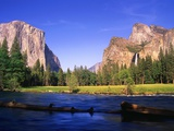 Yosemite Valley Fotografisk tryk af Robert Glusic