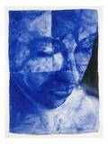 Blue Head 3 Premium Giclee Print by Graham Dean