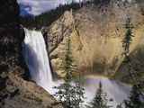 Rainbow at Lower Yellowstone Falls Photographic Print by James Randklev