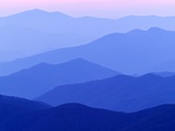 Great Smoky Mountains at Dusk Photographic Print by  Owaki - Kulla