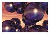 Spheres Giclee Print by Clark Dunbar