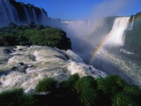 Rainbow and Waterfalls Photographic Print by Pablo Corral Vega