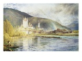 Thun, Switzerland Giclee Print by Alfred William Hunt