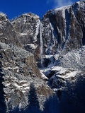 Yosemite Falls, Winter Photographic Print by Douglas Schwartz