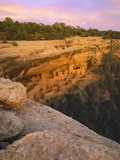 Cliff Palace Anasazi Cliff Dwelling at Mesa Verde National Park Photographic Print by George H.H. Huey