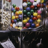 Gum Ball 8 Photographic Print by Charles Bell