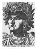 Vespasian, Emperor of Rome Giclee Print by  Antonius