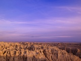 Canyons of Badlands National Park Photographic Print by William Manning