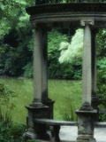 Temple of Love at the Old Westbury Gardens Photographic Print by Susan Rosenthal