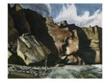Shoshone Cliffs Giclee Print by Edward Hopper