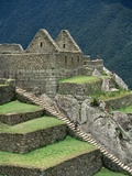 Ruins at Machu Picchu Photographic Print by Dave G. Houser