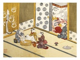 Kitsune no Yomeiri - The Fox's Wedding, Series Print Giclee Print by Tachibana Minko and Circle