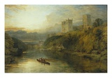 Durham Cathedral, England Premium Giclee Print by Henry Dawson
