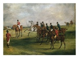 At the Start Reproduction procédé giclée par Henry Thomas Alken