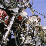 Motorcycle I Reproduction photographique par David Parrish