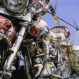 Motorcycle I Photographic Print by David Parrish