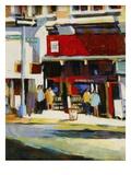 Union Square Bookstore Giclee Print by Patti Mollica
