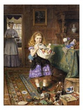 Time for Tea Giclee Print by George Goodwin Kilburne