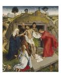 Entombment Giclee Print by Rogier van der Weyden