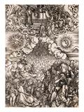 The Apolcalypse of St. John Giclee Print by Albrecht Dürer