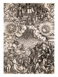 The Apolcalypse of St. John Giclee Print by Albrecht Durer