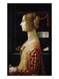 Giovanna Tornabuoni Giclée-tryk af Domenico Ghirlandaio