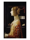 Giovanna Tornabuoni Giclee Print by Domenico Ghirlandaio