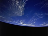 Earth from Space Shuttle Photographic Print