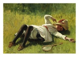Resting Giclee Print by Charles Payne