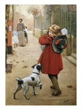 Is That for Me Giclee Print by George Goodwin Kilburne