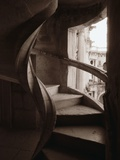 Spiral Stone Staircase in Convento de Cristo Photographic Print by John & Lisa Merrill