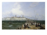 A View of Margate from the Pier Giclee Print by James Webb