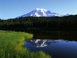 Mt. Rainier Photographic Print by James Randklev