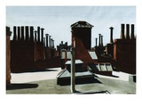 Roofs of Washington Square Giclee Print by Edward Hopper
