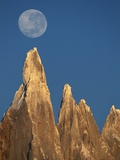 Moon Over Mount Torre Photographic Print by Theo Allofs