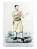 Tom Sayers, Champion of England Giclee Print by  Stapleton Collection