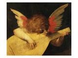 Musical Angel Giclée-tryk af Fiorentino, Rosso