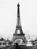 Eiffel Tower from Exhibition Grounds Photographic Print