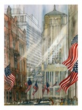 Franklin McMahon - Trading Floor of the Chicago Board of Trade - Giclee Baskı