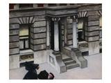 New York Pavements Giclée-tryk af Edward Hopper
