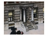 New York Pavements Premium Giclee Print by Edward Hopper