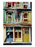 Funky Soho Giclee Print by Patti Mollica