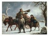 Christmas Eve Giclee Print by John Joseph Barker