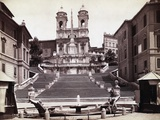View Of Steps In Piazza Di Spagna Photographic Print by  Bettmann