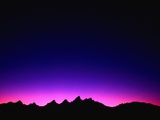 Sunset over Teton Range Photographic Print by Mark Karrass
