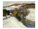Winter Landscape Giclee Print by George Gardner Symons
